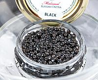 Russian Osetra Karat Caviar - Black